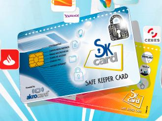 Nace Safe Keeper Card, la tarjeta que unifica claves de forma segura